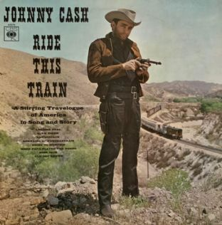 Johnny Cash - Ride This Train (LP) (G+/G+)